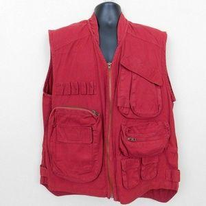 Vintage Authentic Imports Shooting Vest Size XL
